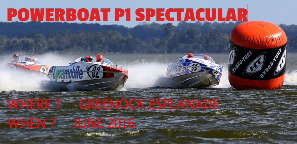 Powerboat P1 Greenock